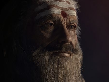 Portrait Lighting - Holy Man