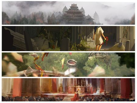 Environment Design for Movies and Games