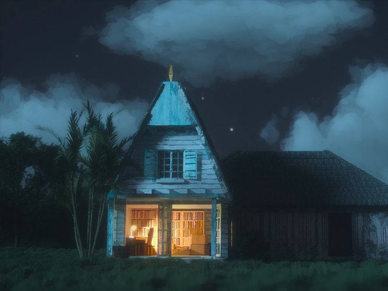 My neighbor Totoro's House