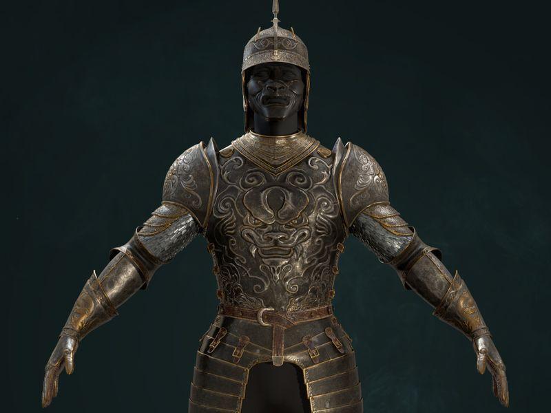 WIP Medieval Warrior