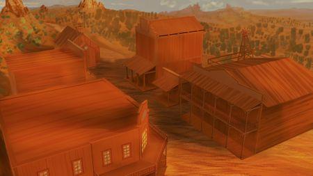 Wild West Environment Design