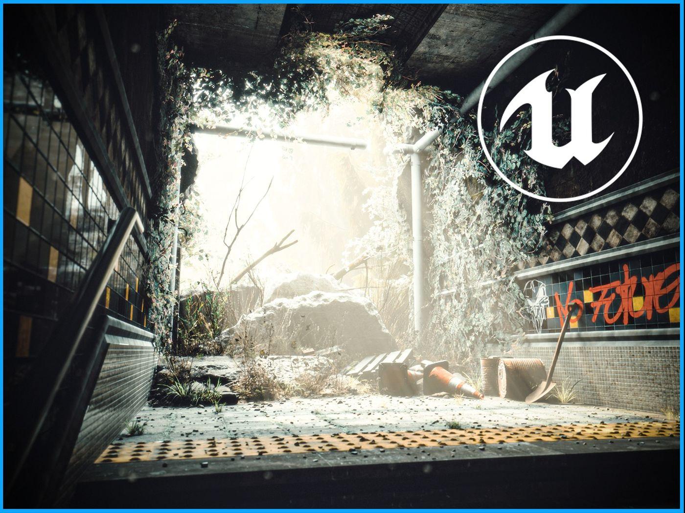 Subway 2041 & Italian alley - Unreal Engine environments