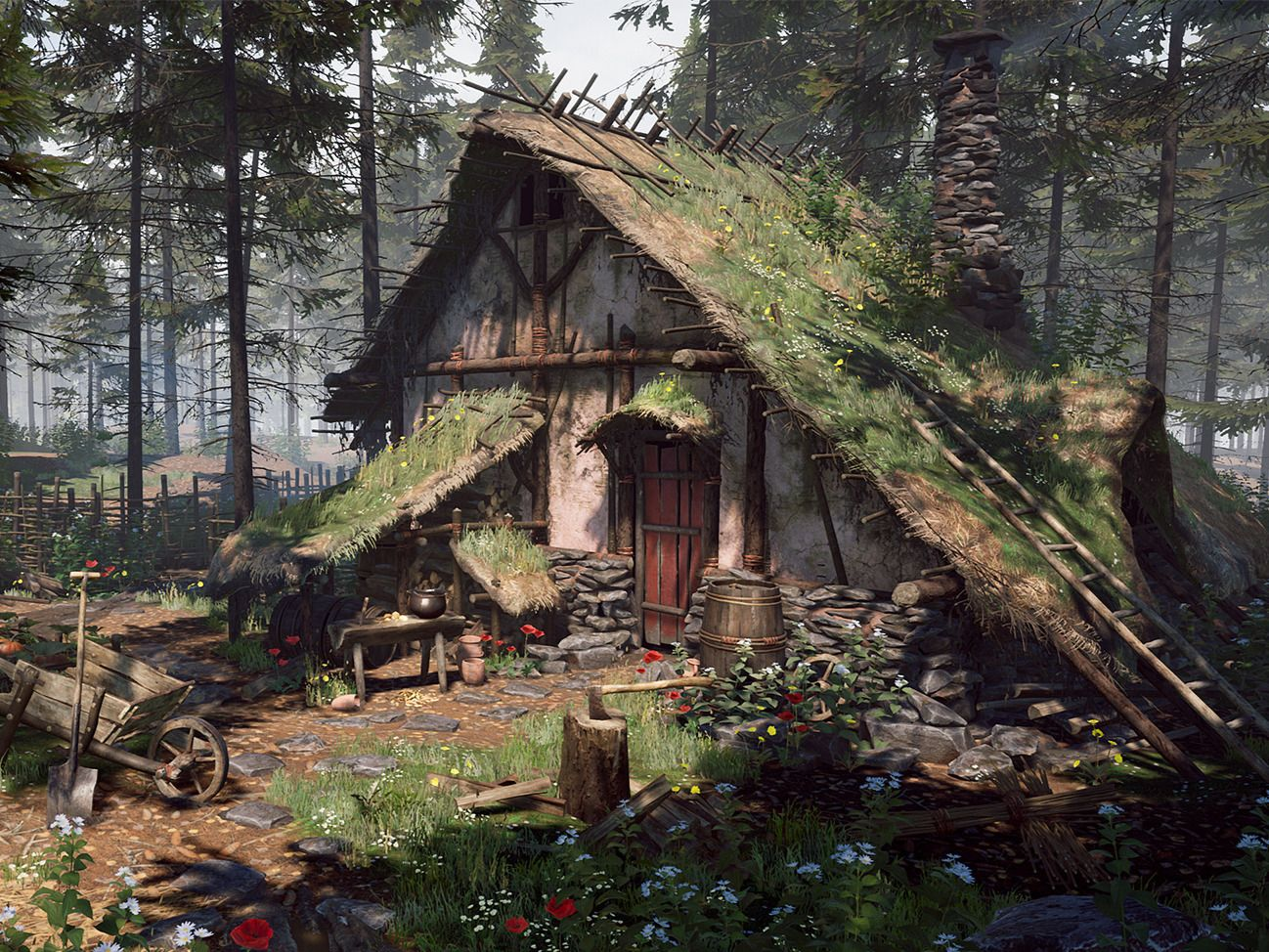 Forest Cabin (personal project)