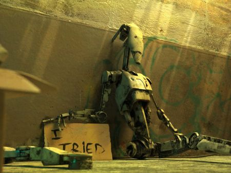 The Homeless Droid