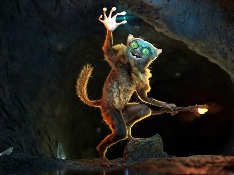 Grihi The tarsier