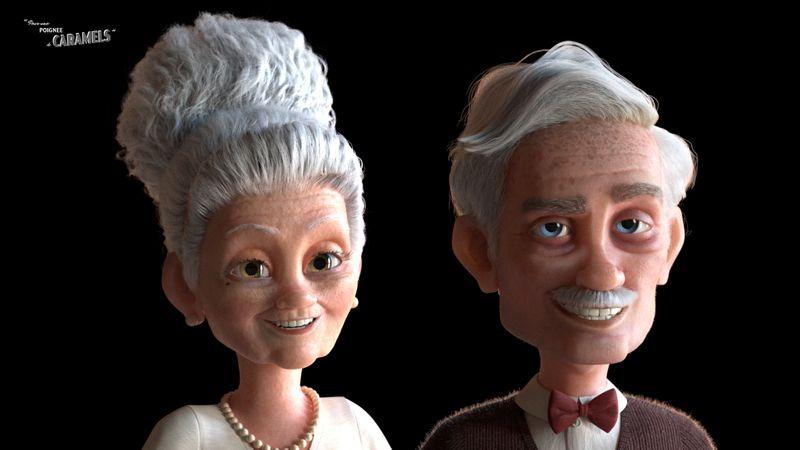 GrandMa and GrandPa (Caramels Short)