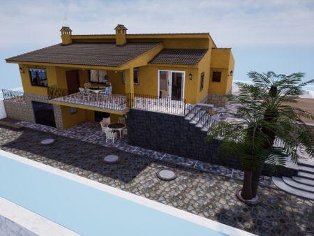 Spanish Villa Environment