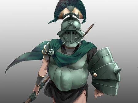 Gladiator concept art