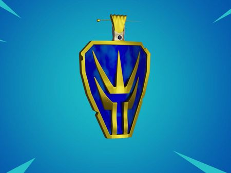 Wei of the Wu Shield (Cao Cao Fortnite Back Bling)