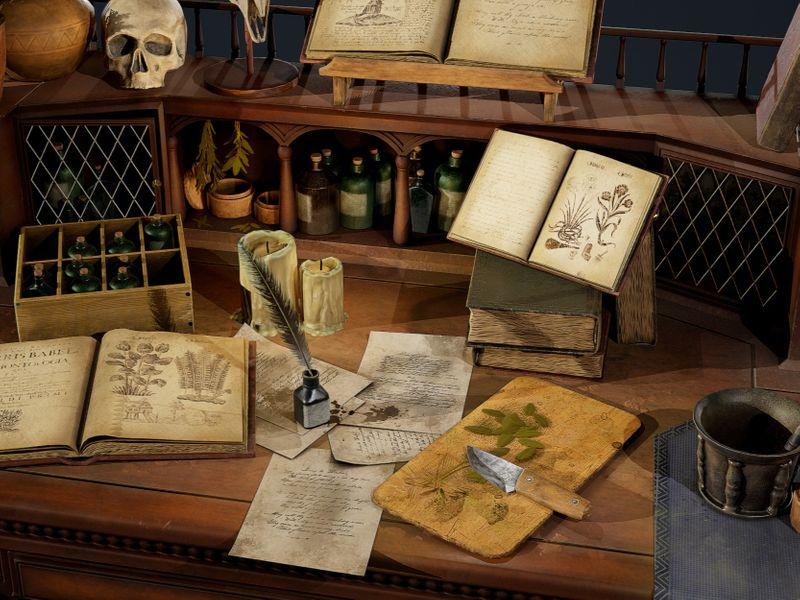 Herbalist Desk