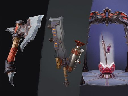 Stylized Props and assets