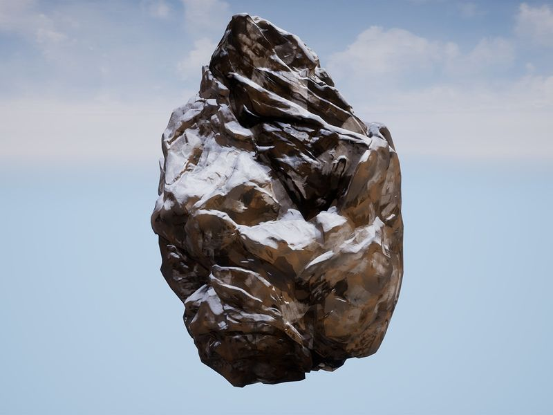 Creating a stylised, modular rock