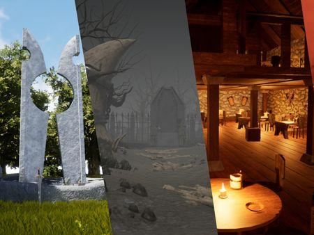 Fantasy Environment Portfolio
