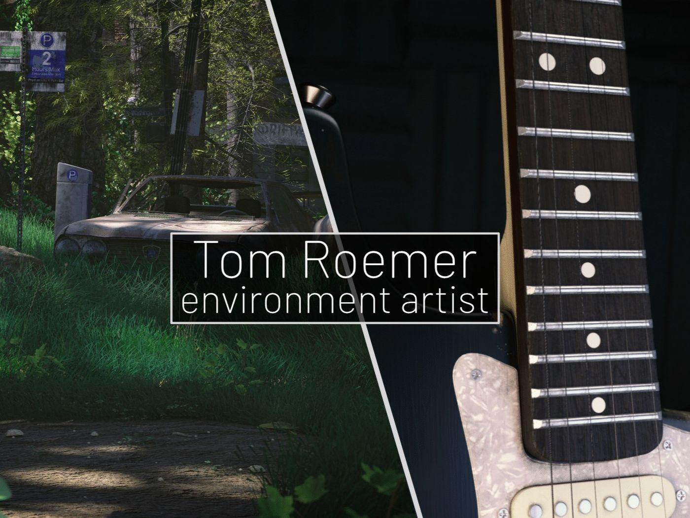 Tom Roemer - Environment Artist | The Rookies