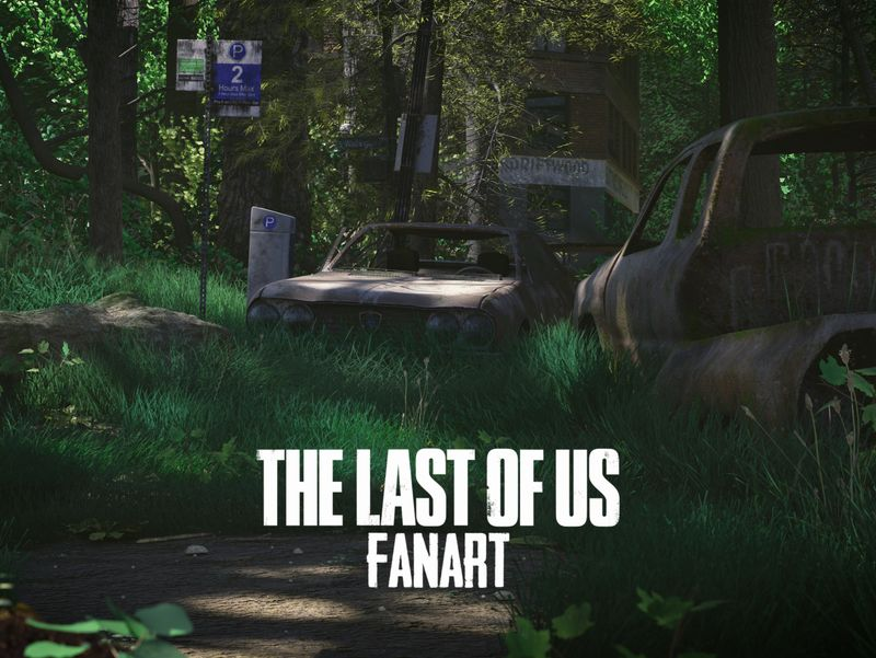 """""""The Last of Us"""" inspired environment"""
