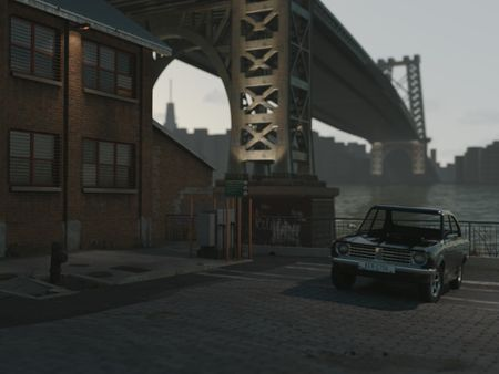 Car By The East River
