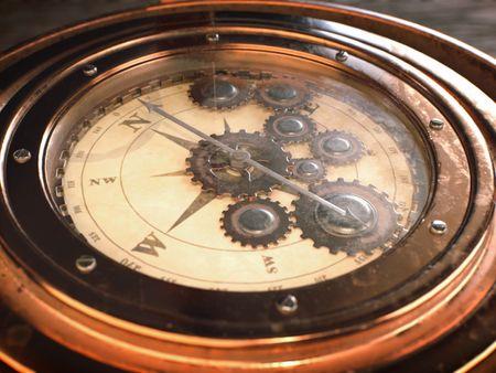 #WeeklyDrills 055 - Steampunk Compass