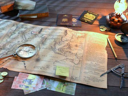 #WeeklyDrills 059 - Treasure Map