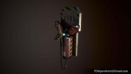 Sci-Fire Extinguisher