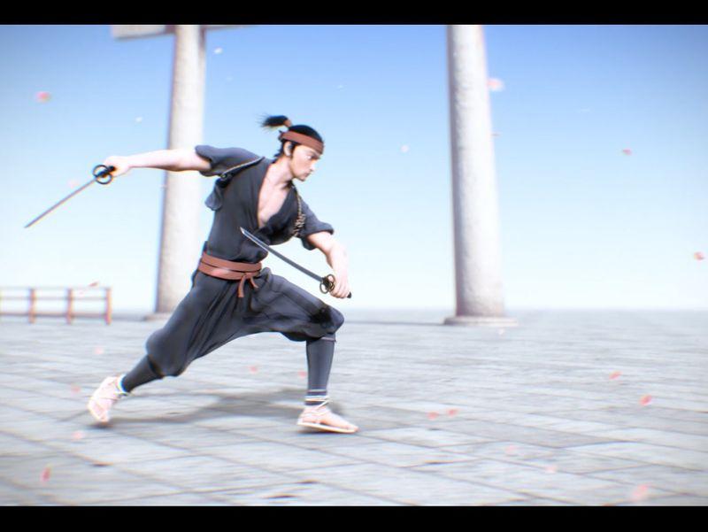 Musashi Miyamoto Animation Video.