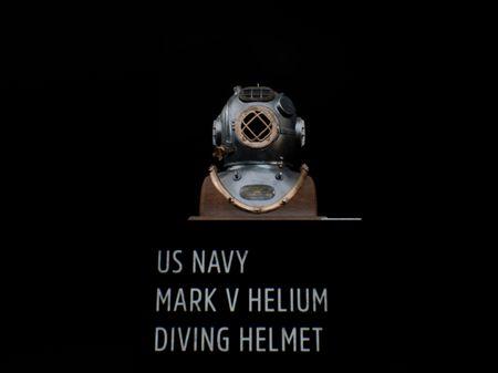 US Navy Mark V Helium Diving Helmet