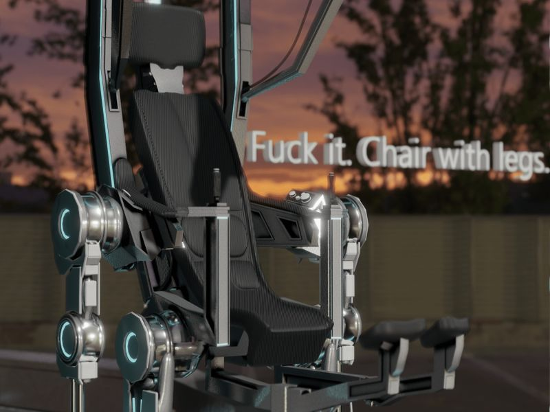 Fuck It, Chair With Legs