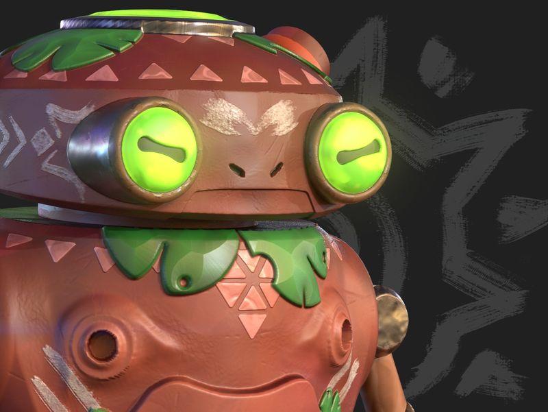 Freddie - Froggo Eddie