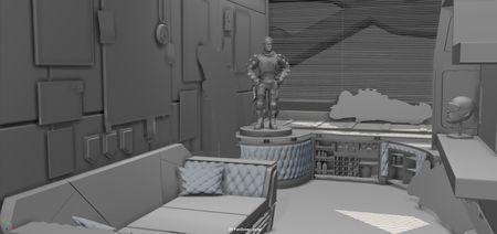 Apex Legends Mirages Bedroom