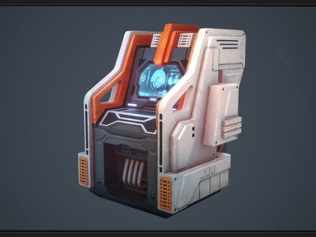 Sci-fi Computer Station