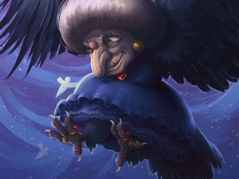 Bird Yubaba