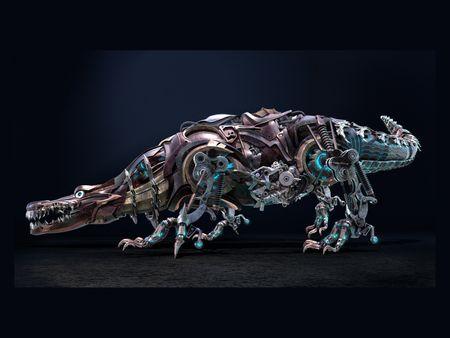 Crocodile Robot.