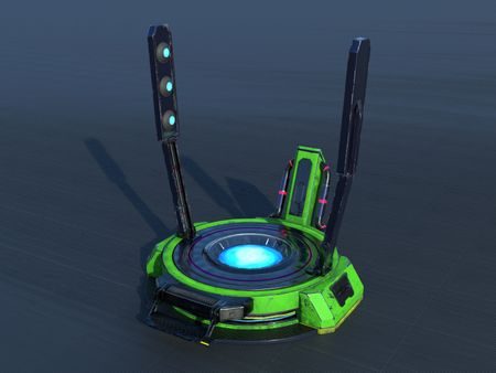 CGSpectrum Modelling Challenge #1 - Portal