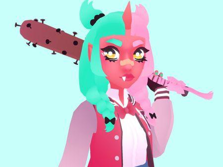 Oni School Girl Delinquent