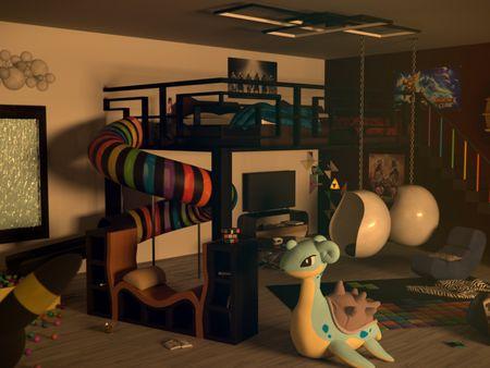 Twins's bedroom