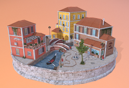 Venice city scene