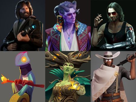 3D Character Art for Games 2020/2021