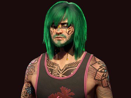 V - Cyberpunk 2077 Fanart