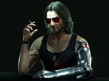 Johnny Silverhand - Cyberpunk 2077 Fanart