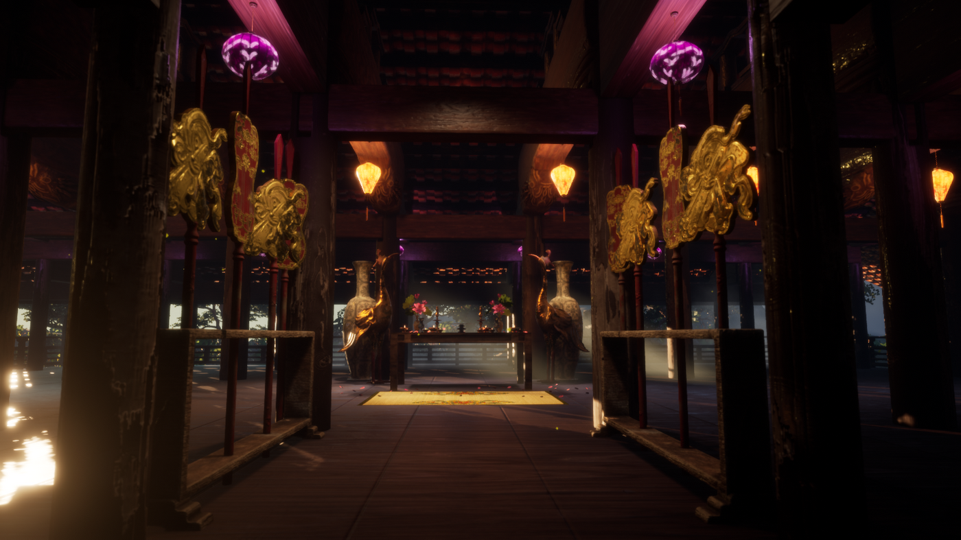 Vietnamese Temple in UE4