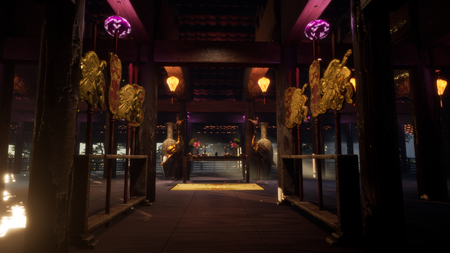 Vietnamese Temple in UE4