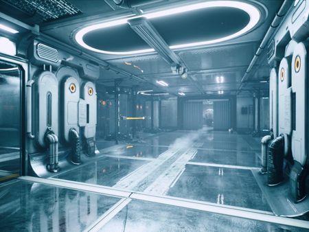 Sci-Fi Lab - Contamination Zone - Unreal Environment