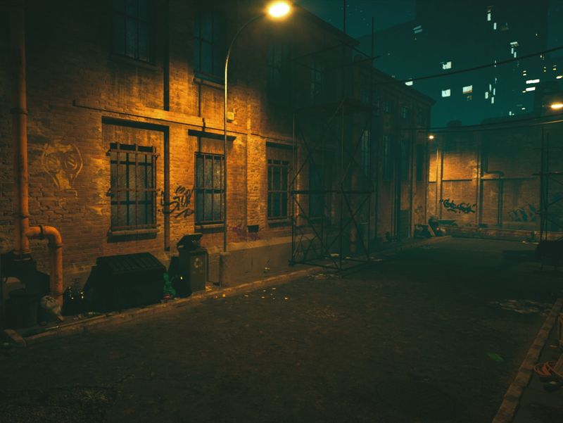 Dark Alley - Unreal Engine 4 Environment