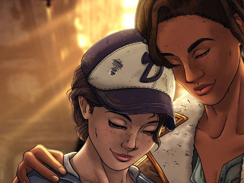 Clementine's Happy Ending | TWD: The Final Season Fanart