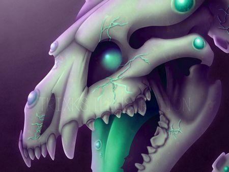 Radioactive Zombie Dragon
