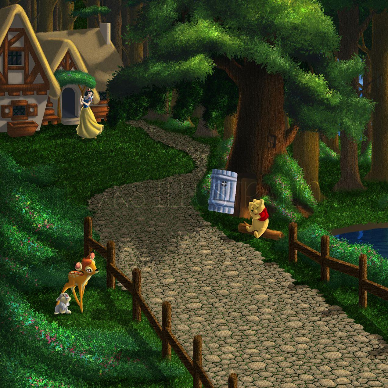 My Disney Oasis Zoom Trixks