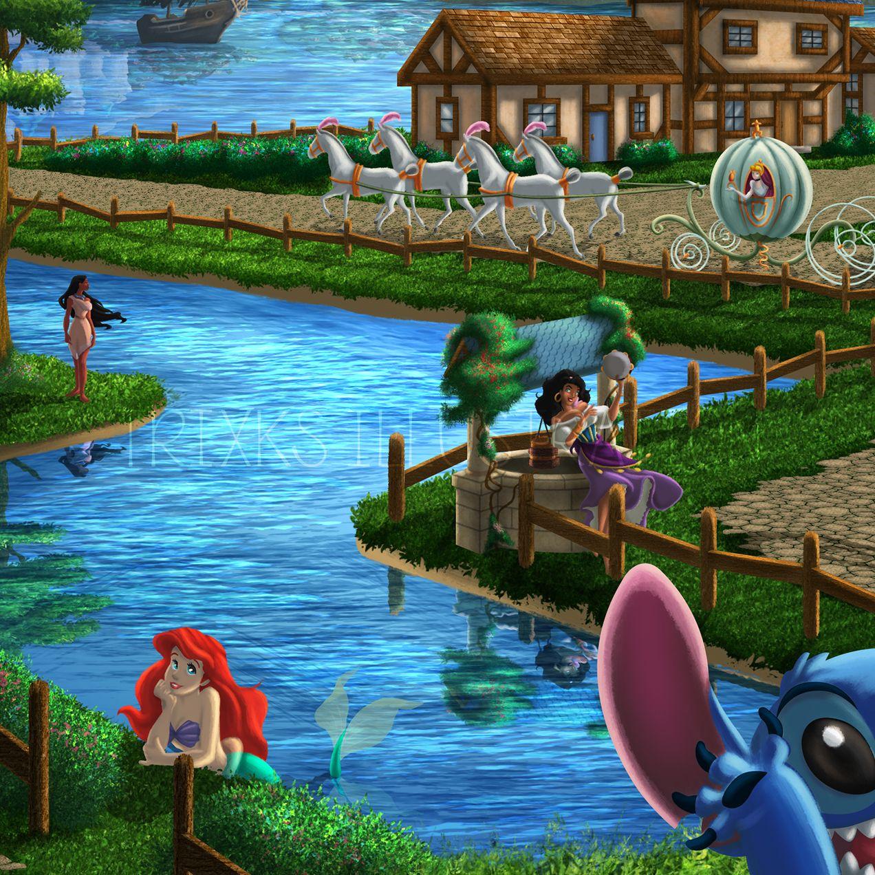 My Disney Oasis Zoom3 Trixks