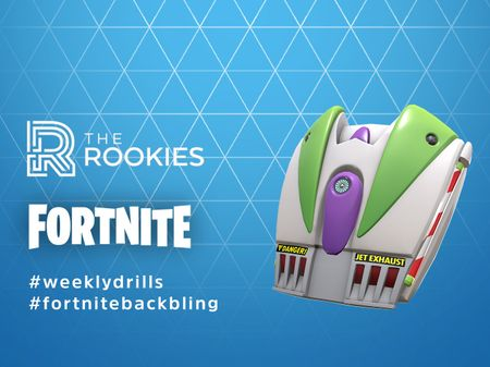 To Infinity and Beyond! - Fortnite Back Bling
