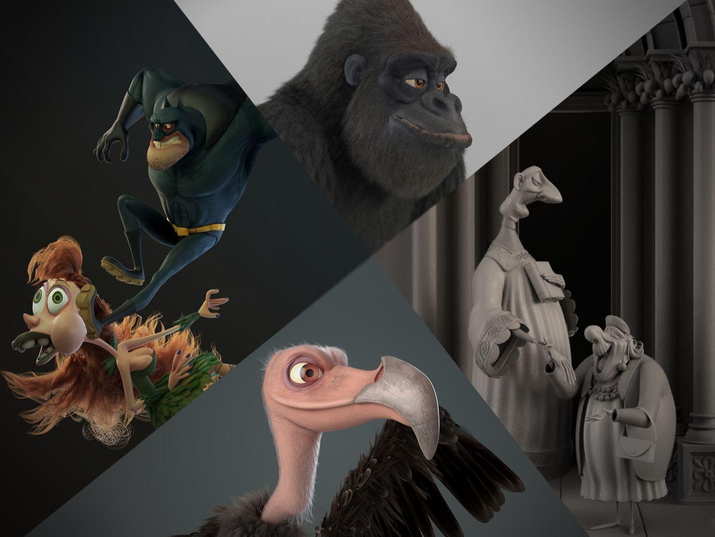 "Jaime ""Troiti"" López - 3D Character Artist -Portfolio 2019"