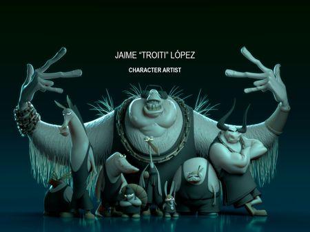 "Jaime ""Troiti"" López - 3D Character Artist"
