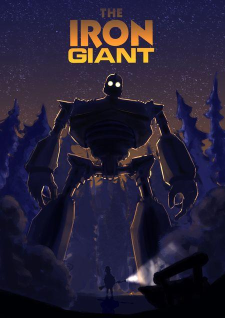 The Iron Giant Fan Art